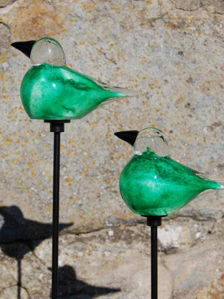 Grön Fågel