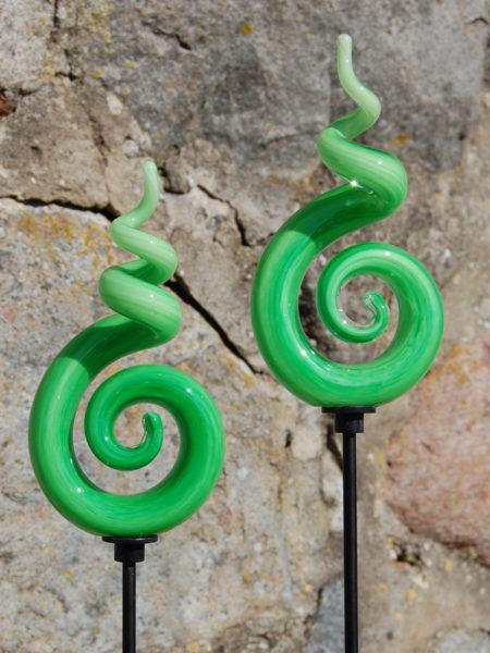 grön skruvig
